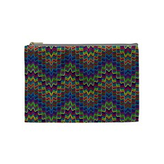 Decorative Ornamental Abstract Cosmetic Bag (Medium)