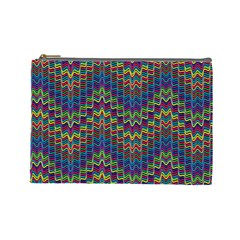 Decorative Ornamental Abstract Cosmetic Bag (Large)