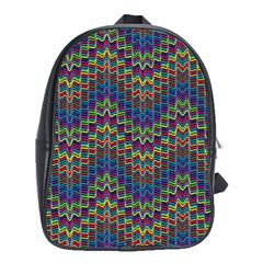 Decorative Ornamental Abstract School Bags(Large)