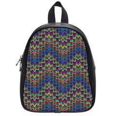 Decorative Ornamental Abstract School Bags (Small)