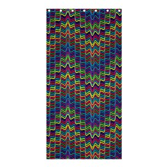 Decorative Ornamental Abstract Shower Curtain 36  x 72  (Stall)