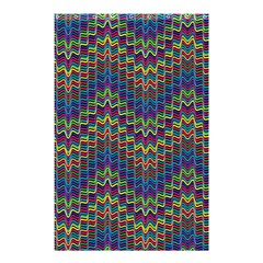 Decorative Ornamental Abstract Shower Curtain 48  x 72  (Small)