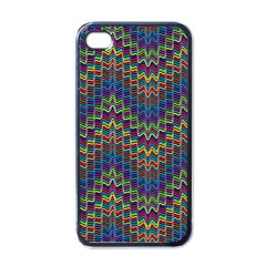 Decorative Ornamental Abstract Apple iPhone 4 Case (Black)