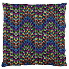 Decorative Ornamental Abstract Large Cushion Case (Two Sides)