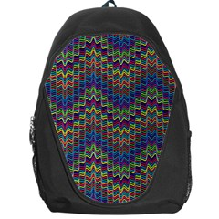 Decorative Ornamental Abstract Backpack Bag