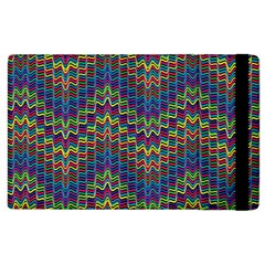 Decorative Ornamental Abstract Apple iPad 3/4 Flip Case
