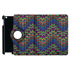Decorative Ornamental Abstract Apple iPad 2 Flip 360 Case