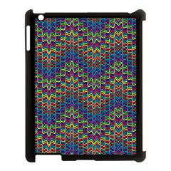 Decorative Ornamental Abstract Apple Ipad 3/4 Case (black)
