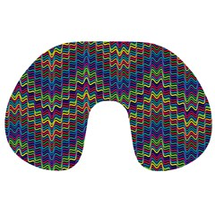 Decorative Ornamental Abstract Travel Neck Pillows