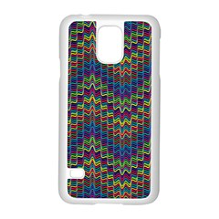 Decorative Ornamental Abstract Samsung Galaxy S5 Case (White)