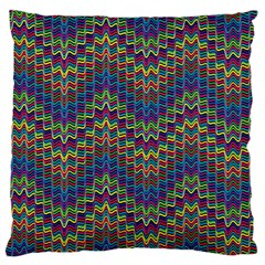 Decorative Ornamental Abstract Large Flano Cushion Case (One Side)