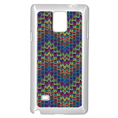 Decorative Ornamental Abstract Samsung Galaxy Note 4 Case (White)