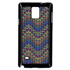 Decorative Ornamental Abstract Samsung Galaxy Note 4 Case (Black)