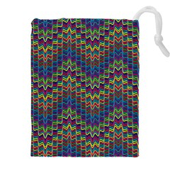 Decorative Ornamental Abstract Drawstring Pouches (XXL)