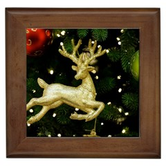 December Christmas Cologne Framed Tiles
