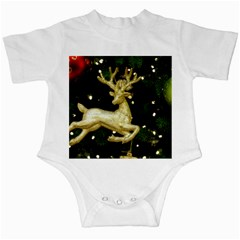 December Christmas Cologne Infant Creepers