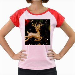 December Christmas Cologne Women s Cap Sleeve T-Shirt