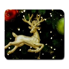 December Christmas Cologne Large Mousepads