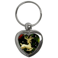 December Christmas Cologne Key Chains (Heart)
