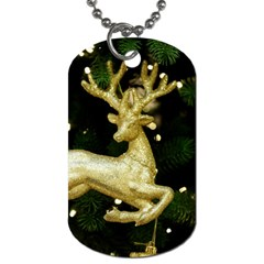 December Christmas Cologne Dog Tag (Two Sides)