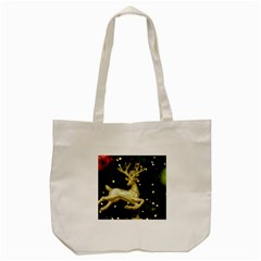 December Christmas Cologne Tote Bag (cream)