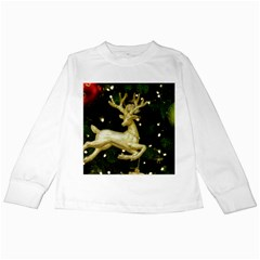 December Christmas Cologne Kids Long Sleeve T-Shirts