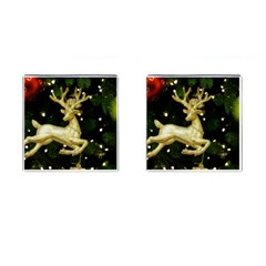 December Christmas Cologne Cufflinks (Square)