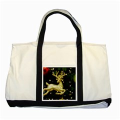 December Christmas Cologne Two Tone Tote Bag