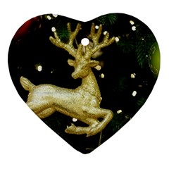 December Christmas Cologne Heart Ornament (Two Sides)