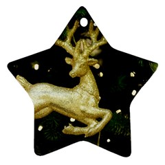 December Christmas Cologne Star Ornament (Two Sides)