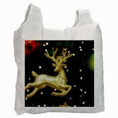 December Christmas Cologne Recycle Bag (Two Side)