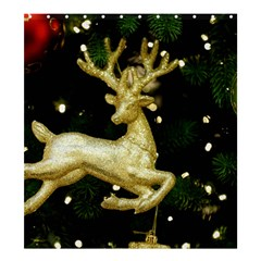 December Christmas Cologne Shower Curtain 66  x 72  (Large)