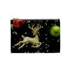 December Christmas Cologne Cosmetic Bag (Medium)