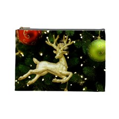 December Christmas Cologne Cosmetic Bag (Large)