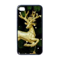 December Christmas Cologne Apple iPhone 4 Case (Black)