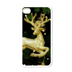 December Christmas Cologne Apple iPhone 4 Case (White)