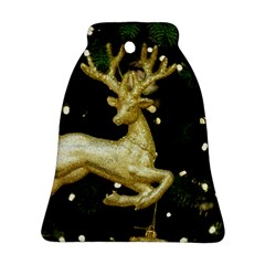 December Christmas Cologne Bell Ornament (Two Sides)