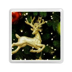 December Christmas Cologne Memory Card Reader (Square)