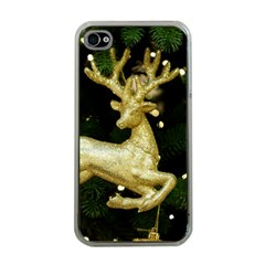 December Christmas Cologne Apple iPhone 4 Case (Clear)
