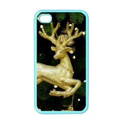 December Christmas Cologne Apple iPhone 4 Case (Color)
