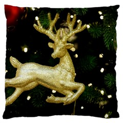 December Christmas Cologne Large Cushion Case (Two Sides)