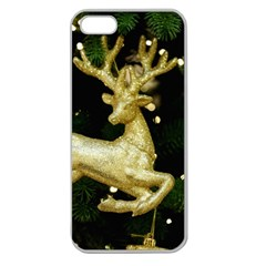 December Christmas Cologne Apple Seamless Iphone 5 Case (clear)
