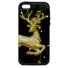 December Christmas Cologne Apple iPhone 5 Hardshell Case (PC+Silicone)