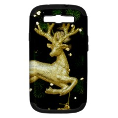December Christmas Cologne Samsung Galaxy S Iii Hardshell Case (pc+silicone)