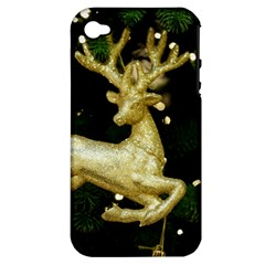 December Christmas Cologne Apple iPhone 4/4S Hardshell Case (PC+Silicone)