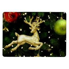 December Christmas Cologne Samsung Galaxy Tab 10.1  P7500 Flip Case