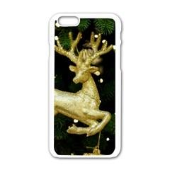 December Christmas Cologne Apple iPhone 6/6S White Enamel Case