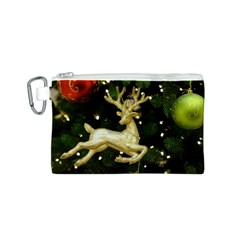 December Christmas Cologne Canvas Cosmetic Bag (s)