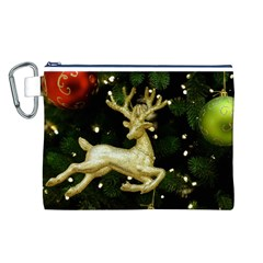 December Christmas Cologne Canvas Cosmetic Bag (l)