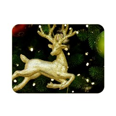 December Christmas Cologne Double Sided Flano Blanket (Mini)